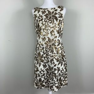NWT Ralph Lauren evening sequins dress 8